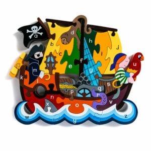 Alphabet Pirate Ship