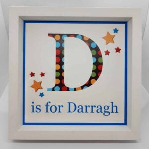 D is for Darragh - personalise_baby_gift