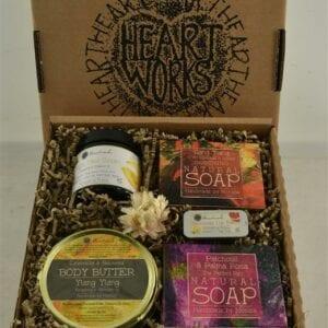 gift set of natural skincare