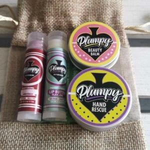 Plumpy Balms vegan skincare gift set