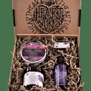 Gift set of natural skincare mountain ash a