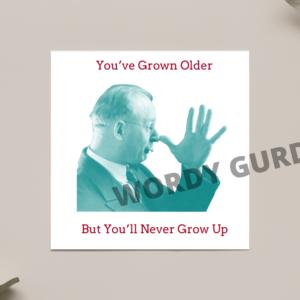 GROWN OLDER SCENE