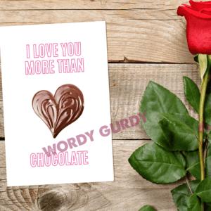 love more than chocolate scene