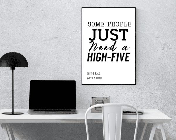 HIGH FIVE SCENE