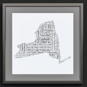 New York Slang Map