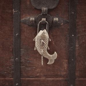 NK: FP0301 Fish Brass Padlock C