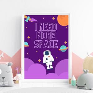 I Need More Space Scene