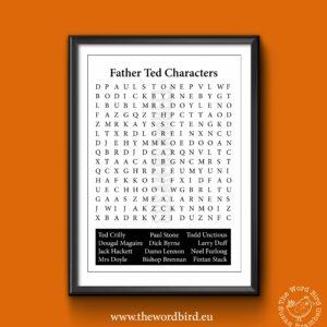 The Word Bird Fr Ted Word Seach