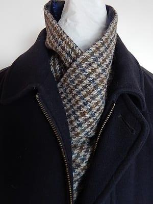 Gents tweed scarf