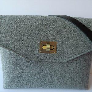 Ladies tweed shoulder bag