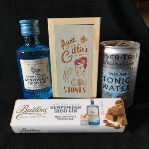 gin and choc set