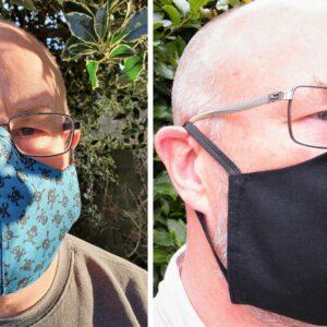 Set of 2 face masks