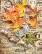 In autumn tones